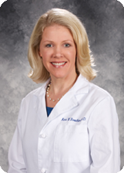 Kari W. Boucher, MD at Brinton Lake Dermatology